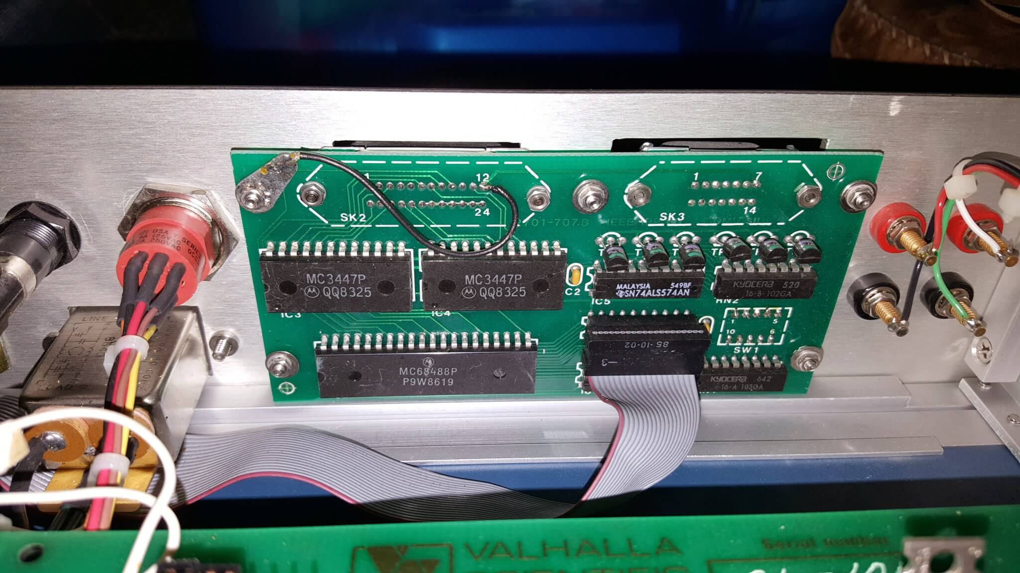 Valhalla Scientific 2701C GPIB Board
